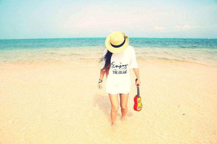 sea. Ishigaki  Sea Sky Camera Photographer Happy Surf Girl 一眼レフ First Eyeem Photo