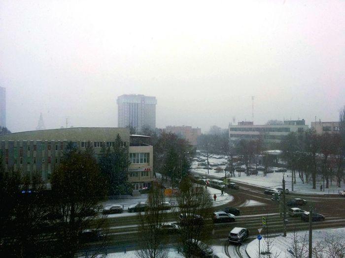 Snow ❄ in Samara
