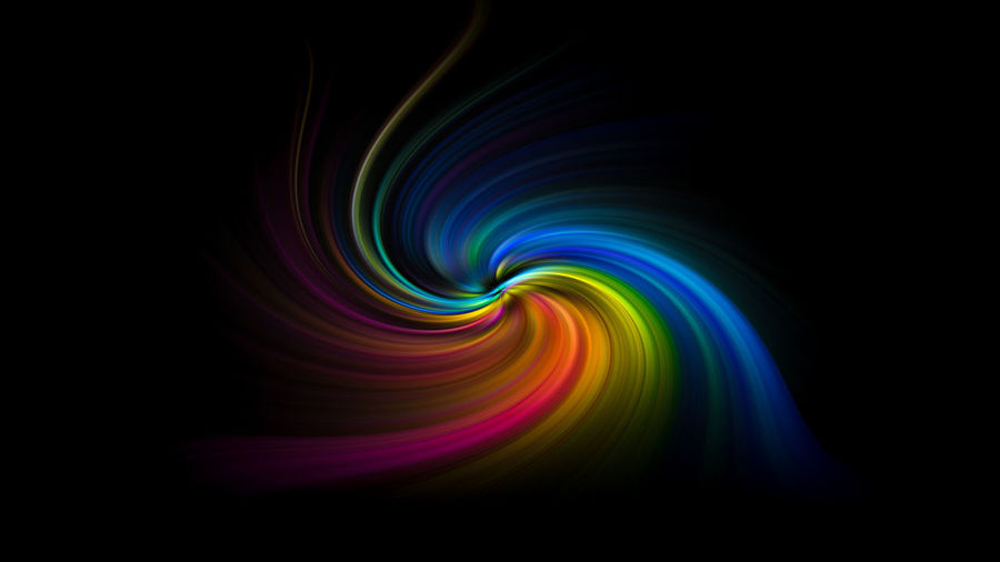 Multi colored vortex swirl spin background Multi Colored Motion Abstract Pattern Long Exposure Black Background No People Illuminated Light - Natural Phenomenon Creativity Backgrounds Green Color Nature Swirl Glowing Studio Shot Vibrant Color Light Night Dark Bright Flowing