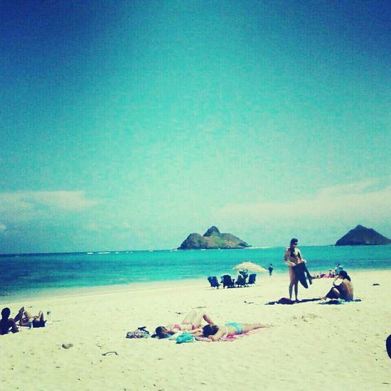 Aloha Lanikai Beach Hawaii