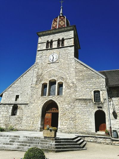 Church Architecture History Place Of Worship Building Exterior Sky Medieval France🇫🇷