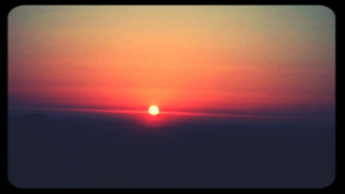 Amazing Sunset Red Sky Taken By Me S3 #Khq