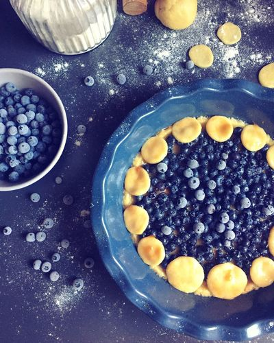 Blueberry Pie Blueberry Food Food And Drink Freshness Bowl Indoors  Blueberry Food Stories