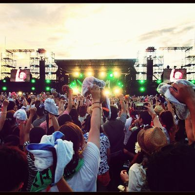 Japan Live Yeah Sunset Excited Music Hey  Freedom
