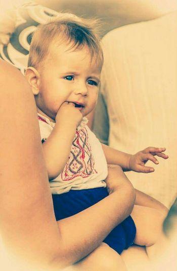 Children Boy Blue Eyes вишиванка