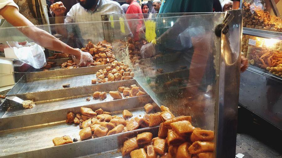Tunis Souk Men Retail  Women For Sale Food And Drink Market Stall Street Market Vendor Market Street Food