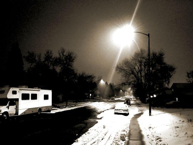 Suburbia I Night Tree Illuminated Outdoors No People Water Sky
