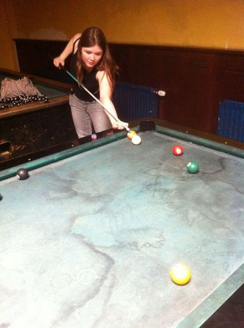 Billard Game Fun Playing That's Me
