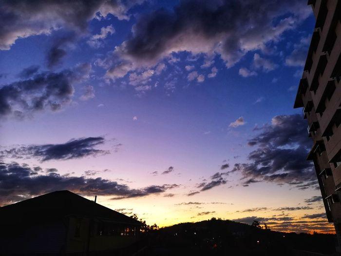 Fading light..... Astronomy Star - Space Sunset Galaxy Mountain Milky Way Tree Silhouette Sky Cloud - Sky Dramatic Sky