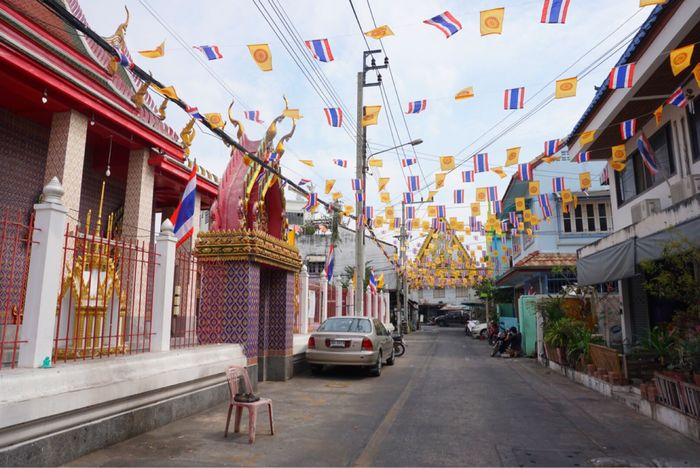 Architecture Built Structure Building Exterior Hanging Day No People Outdoors Thai