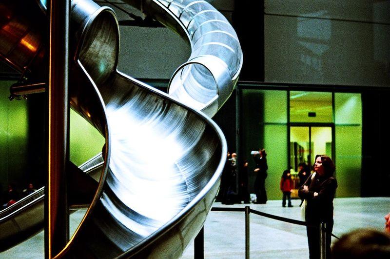 Art Carlsten Holler Indoors  London Slide Slides Tate Tate Modern Gallery TateModern