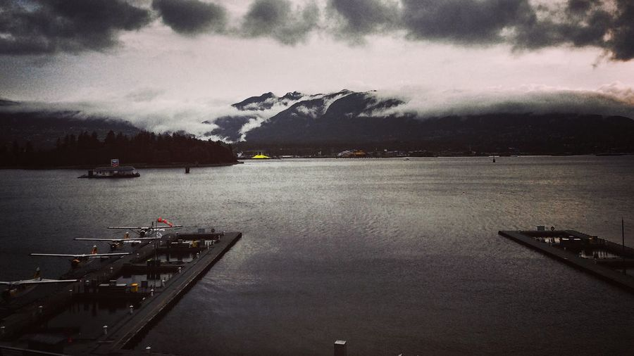Vancouver BC Mood Rain Nortvan