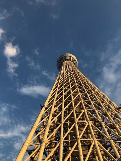 EyeEm Selects Low Angle View Sky Cloud - Sky Built Structure Architecture Tower Tall - High