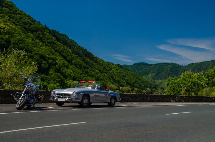 Cabriolet Car Classic Car Land Vehicle Mercedes Mercedes-Benz Oldtimer On The Move Pagode Road Transportation