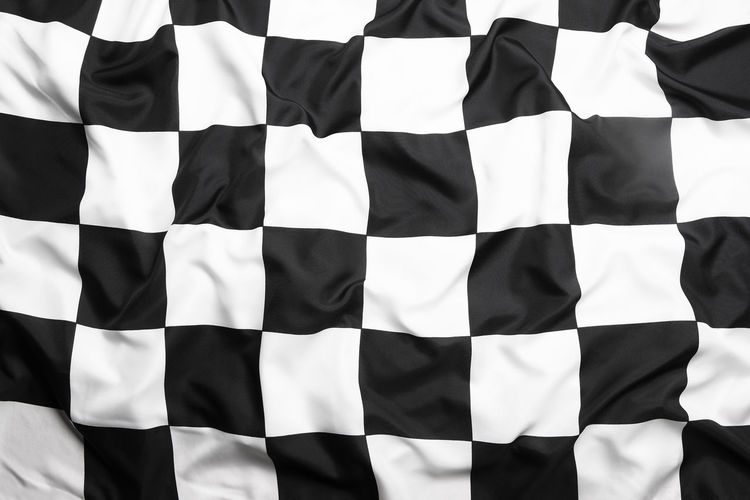 Backgrounds Cars CarShow Day Finish Flag Full Frame In A Row No People Outdoors Patriotism Striped Target Target Flag White Background White Color