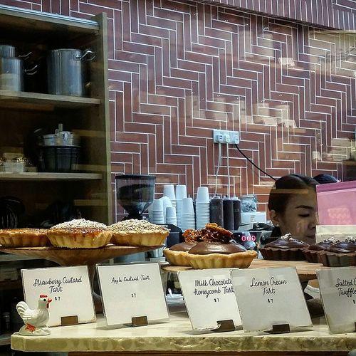 Dessert Tarts Cafe Foodphotography Singaporestreetphotography Sg_streetphotography Streetphotography Tiong Bahru Singapore