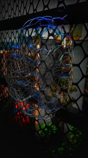 Bubble Daft No People Close-up Illuminated Bubbles Bubbles ♥ Structure Architecture Honeycomb Diffraction Colour