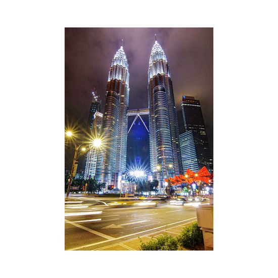 The Twin Tower-KL City Built Structure Architecture Cityscape Night