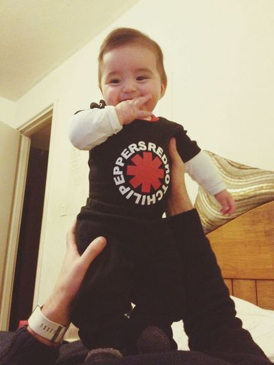 Redhotchilipeppers Baby 6months I Love You !
