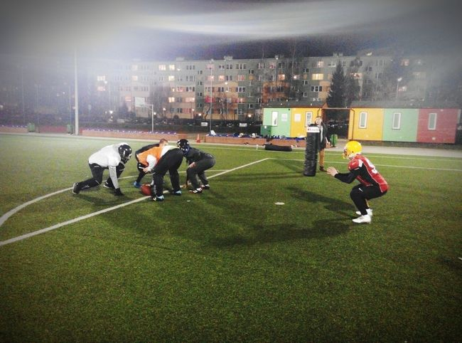 Drużyna! Rodzina! Warriors Lubin - American Futboll Team