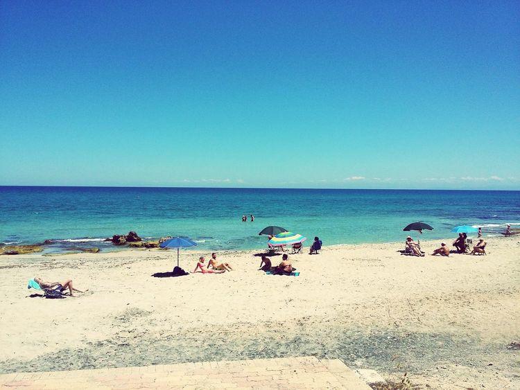 Spiaggia san foca Beach Sand Water Sea
