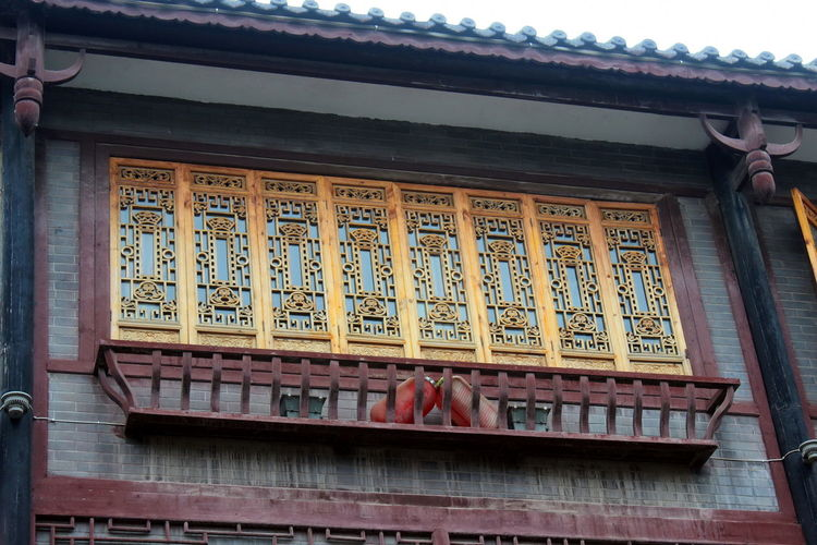 Ancient Architecture_collection Building Exterior Buildings Design Heritage Heritage Site Heritagesite HeritageVillage Monumental Buildings Things I Like Window Designs Windows China Oriental China,Guizhou Handicraft Wood Carving Colourful Scenic