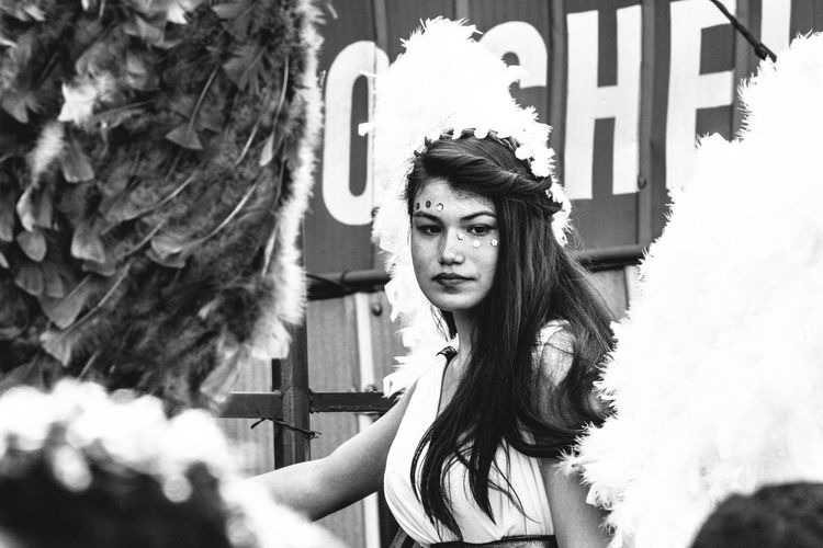Angel Girl Chile Valparaíso People Carnival Beauty Chilefotos America Latina Latin America Woman