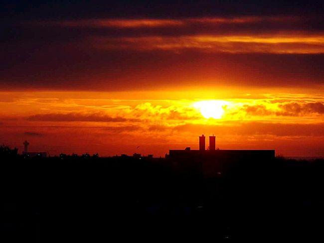Sunrise Over JFK Battle Of The Cities Brooklyn JFKAirport