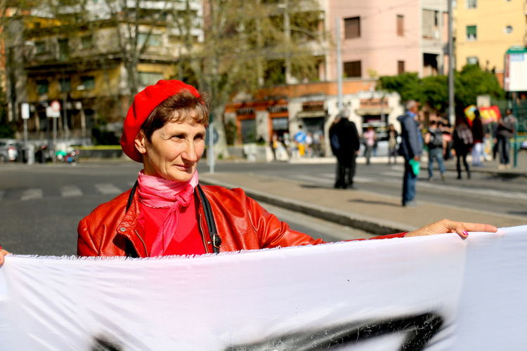No Euro, No Nato, No UE. Manifestazione Roma Eurostop, 25 Marzo 2017 The Portraitist - 2017 EyeEm Awards