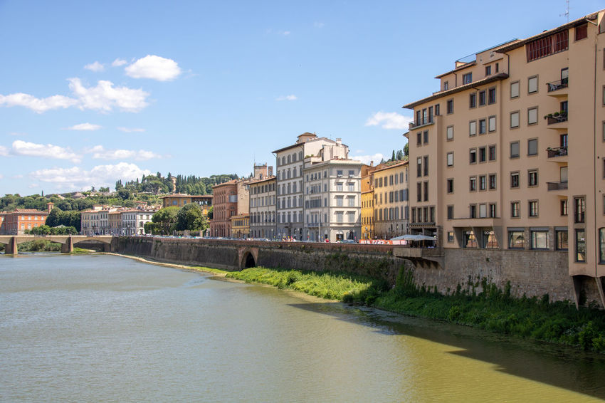 Florence Italy Beautiful Landscape Beautiful Florence Italy Landscape View Of Italy View Of Florence Firenze Firenze, Italy Travel Destinations Vacation Destination Riverscape Cloudy Sky Buildings On Water Ponte Vecchio Ponte Vecchio - Firenze Ponte Vecchio, Florence Ponte Vecchio Firenze Italian Vacatio