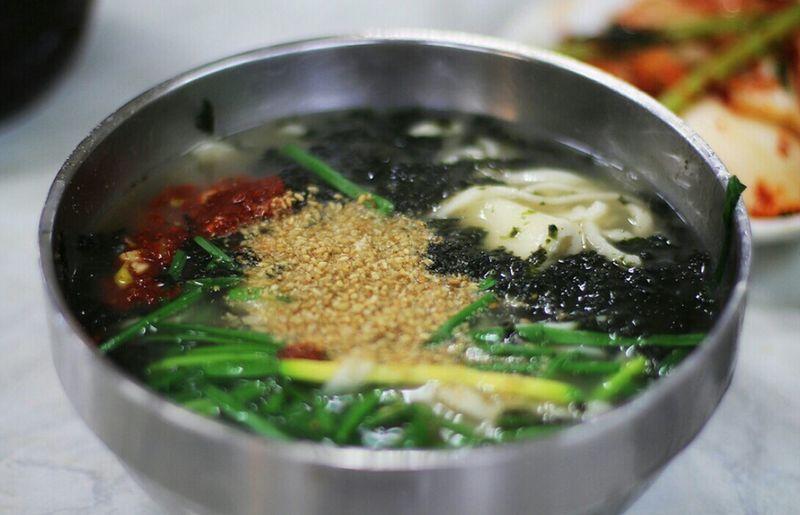 Korea Food KALnoodle @korea seoul guidong @canon eos 100d / 40mm f2.8