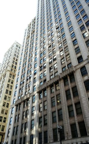 Architecture Skyscraper Built Structure Building Exterior Low Angle View No People Outdoors Chicago