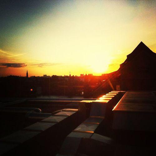 Sun Set Schönes Berlin Berlin Nhow Berlin