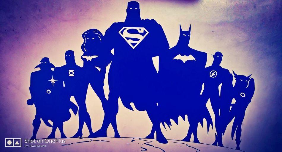 justice league Justice League Superman Justiceleague Batmanvsuperman Wonder Woman Batman Flash Green Lantern  Superman <3 Batman The Dark Knight  Dccomics DC Animal Representing Night No People Outdoors Astrology Sign Sky