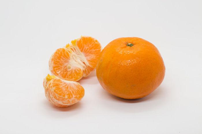 Citrus Fruit Close-up Food Freshness Fruit Healthy Eating No People Orange Orange - Fruit Studio Shot White Background