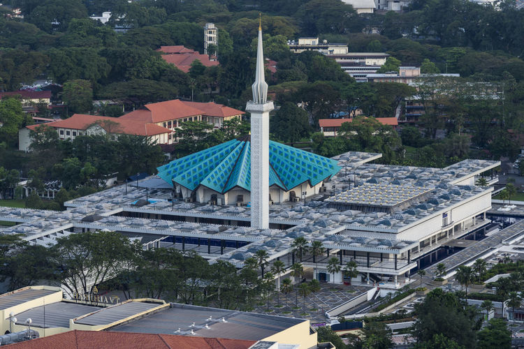 National Mosque, Kuala Lumpur, Malaysia Architecture Building Exterior Built Structure City Day Dome Faith Flag Islam Islamic Islamic Architecture Kuala Lumpur Malaysia Minaret Mosque Muslim National Icon National Mosque Malaysia No People Outdoors Prayer Stability Ummah