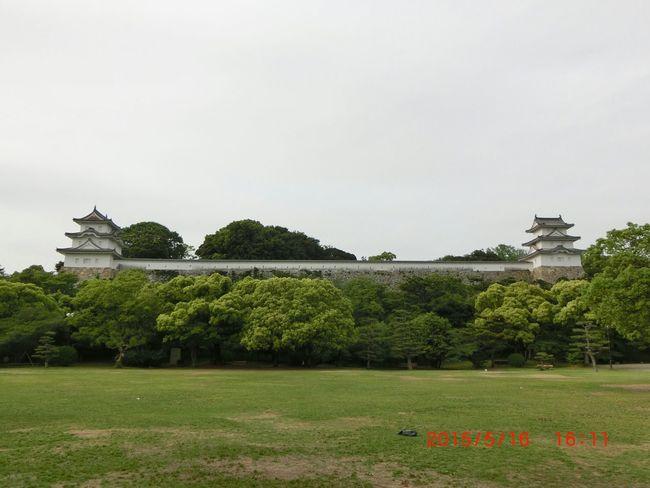 明石公園 Park View Cloudy Day Castle