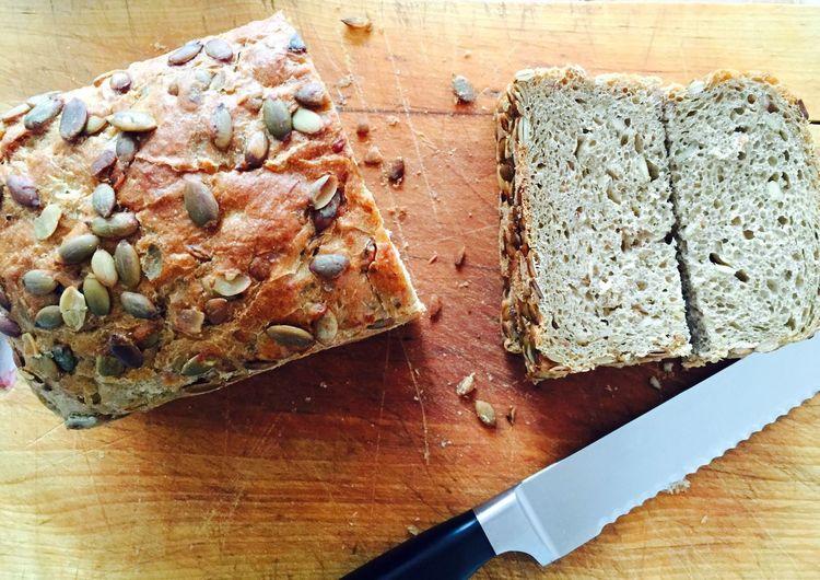 Fresh bread for lunch Bread Food