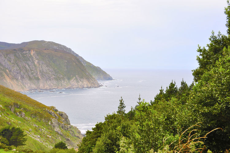 coast of death in galicia spain SPAIN Coast Of Death Galicia Spain Beauty In Nature Coast Of Death In Galicia Spain Day Horizon Over Water Mountain Nature No People Outdoors Scenics Sea Sky Tranquil Scene Tranquility Tree Water
