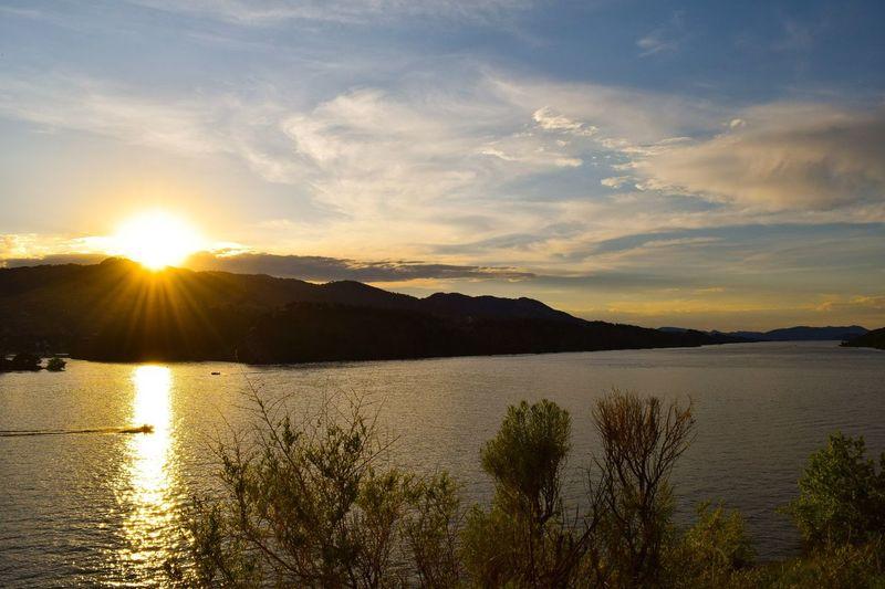 Horsethooth Reservoirsethooth Reservoir Sunset