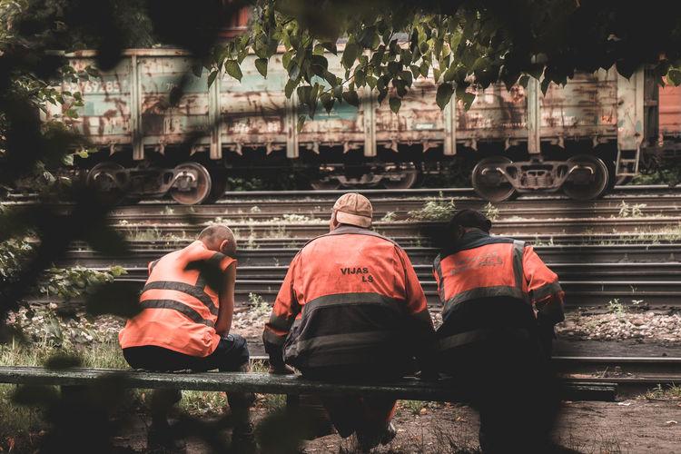 Workers Rear