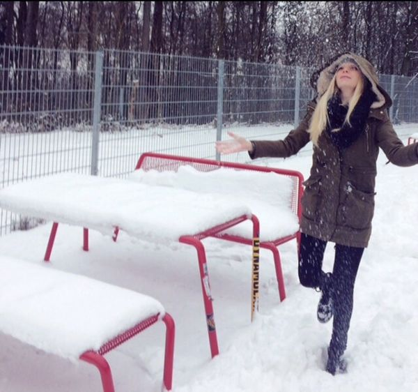 Winter Snow Frozen Germany Hann. Münden Snow ❄ Snowy Bench Happiness The Places I've Been Today Traveling On The Road Schnee