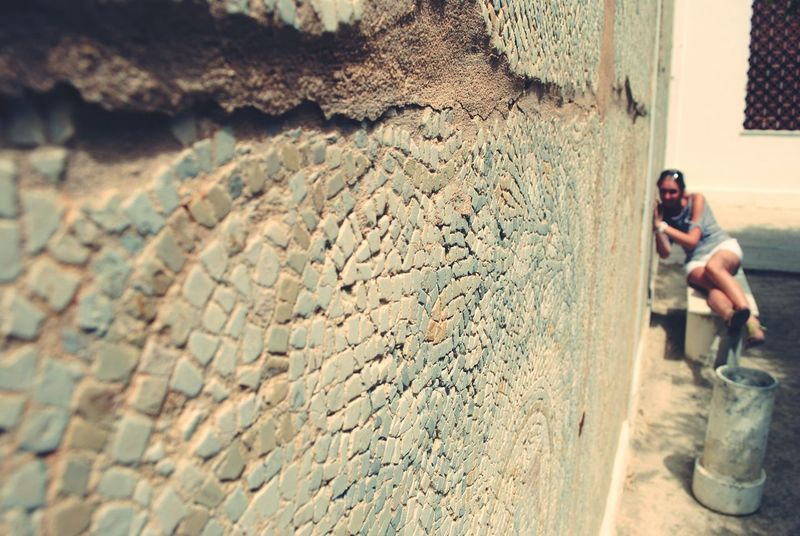 Karthago Tunis Wall Historycal Place History Architecture It's Me! Mosaic Travelling Taking Photos
