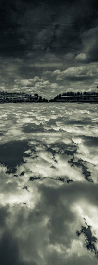 Clouds at our feet Beautiful Sky Black & White Canon 7D HDR Abstract Landscape Beauty In Nature Cloud - Sky Cloudscape Day Monochrome Photography Nature No People Outdoors Scenics Sea Sky Storm Cloud Tranquil Scene Tranquility Water Wetlands