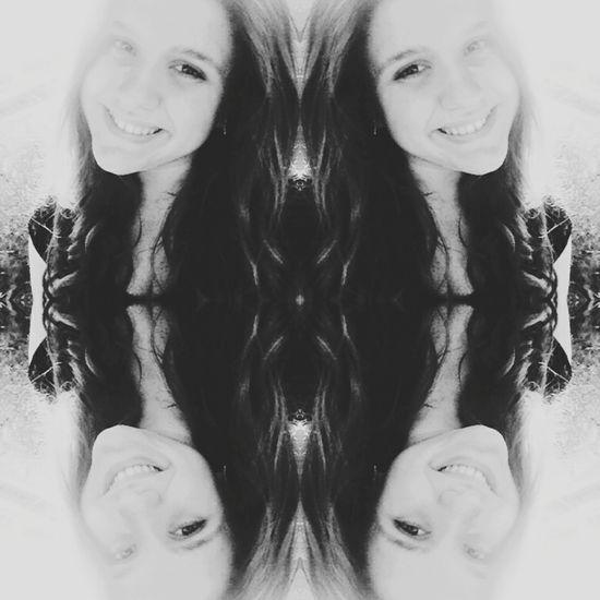 Mirroreffect Taking Photos Bigsmile Happiness