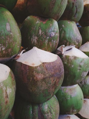 coconuts Big Fruit Food And Drink Food And Beverages Food And Travel Sweet Food Fruits Coconutwater Green Fruits Tropical Fruit Coconuts Supermarket Market Vegetable For Sale