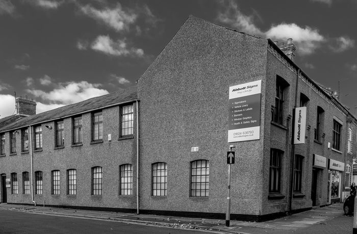 Former shoe factory, Victoria Road, Northampton Monochrome Photography FUJIFILM X-T2 Black And White Monochrome FUJIFILMXT2 Architecture Northampton Boot And Shoe Quarter Shoe Factory Industrial