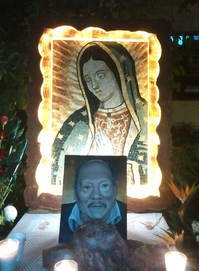 Spirituality Religion Illuminated Virgen De Guadalupe Virgen Reina De México Blessing Blessings Love Peace Santiago Acatlan Tepeaca Puebla De Los Angeles Puebla Mexico