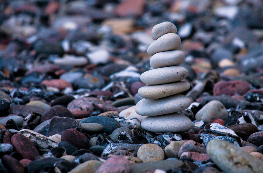 along rügens beaches Arkona Baltic Sea Ostsee Rügen Close-up Nature No People Nordstrand Outdoors Pebble Rock - Object Stack Zen