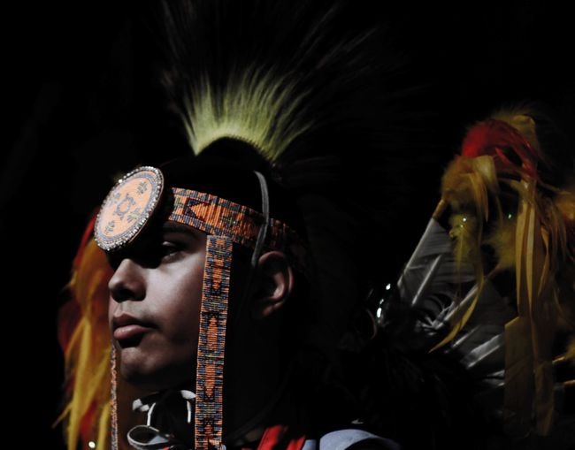 Arts Culture And Entertainment Spirituality Tradition Close-up Black Background Performance Awe Religion Native Native American Indian Native American Culture Boy Becomes Man